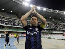 Javier Zanetti genießt nach fast 20 Jahren Legendenstatus bei Inter