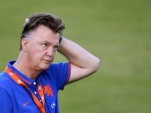 Louis van Gaal muss nun zum ersten Mal in seiner langen Karriere ein Gegenmittel für Lionel Messi finden. Foto: Koen Van Weel