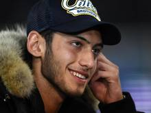 Hakan Calhanoglu erzielte sein erstes Tor im Bayer-Dress