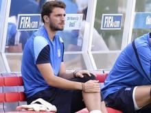 Der Grieche Stefanos Kapino wurde bei der WM nicht eingesetzt