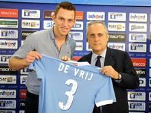 Lazio Rom verpflichtete den Verteidiger Stefan de Vrij