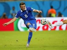 Vasileios Torosidis kam bei der WM in Brasilien für Griechenland zum Einsatz