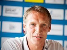 Trainer Thomas Herbst will mit dem FC Viktoria Eintracht Frankfurt überraschen