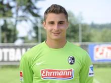 Sebastian Mielitz kämpft beim SC Freiburg um den Stammkeeper-Posten