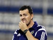 Oscar Garcia ist als Trainer von Maccabi Tel Aviv zurückgetreten. Foto: Katia Christodoulou