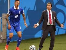 José Holebas (l.) wechselt zum AS Rom