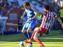 Pedro León (l.) darf nicht für Getafe spielen