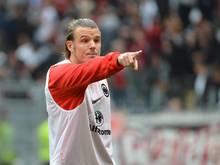 Frankfurts Alexander Meier konnte wieder am Training teilnehmen und hofft auf einen Einsatz