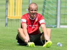 Adam Hlousek hat in dieser Saison noch kein Pflichtspiel für den VfB bestritten