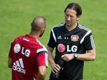 Trainer Roger Schmidt kann auf Ömer Toprak zurückgreifen. Foto: Florian Schuh