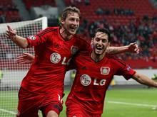 Leverkusen feiert dank seiner starken Offensive einen überzeugenden Heimsieg gegen Benfica. Foto: Kevin Kurek