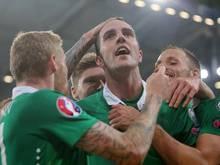 John O'Shea erzielte in der Nachspielzeit das 1:1 gegen Deutschland