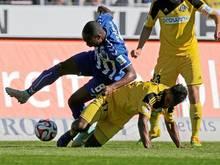 Der Karlsruher SC und der VfR Aalen trennten sich 0:0
