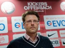 Rico Schmitt traut seinen Kickers einiges zu. Foto: Boris Roessler