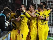 Die Dortmunder feierten einen souveränen Erfolg in Hamburg