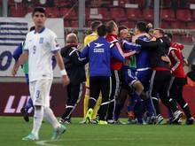 Die Färöer sorgten mit dem 1:0-Sieg in Griechenland für eine Sensation