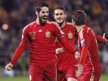 Isco (l.) war der überragende Spieler der Spanier