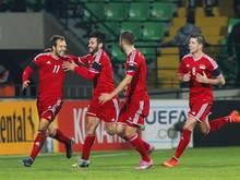 Liechtenstein besiegte Moldawien mit 1:0. Foto: Dumitru Doru