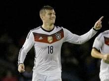 Tony Kroos hat das Tor zum 1:0-Sieg im Länderspiel gegen Spanien erzielt