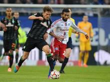 Absolvierte gegen Bremen sein erstes Bundesligaspiel: Hamburgs Mohamed Gouaida