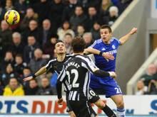 Newcastle ließ Chelsea das ungewohnte Gefühl einer Niederlage spüren. Foto: Phillip Richards
