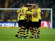Die Dortmunder hoffen auf ein weiteres Erfolgserlebnis in der Champions League