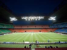 Bislang trägt der AC Milan seine Heimspiele gemeinsam mit Lokalrivale Inter im San Siro aus