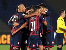 Die Spieler von San Lorenzo wollen den Papst mit einem Sieg glücklich machen