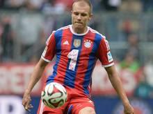 Holger Badstuber will 2015 auf den Platz zurückkehren