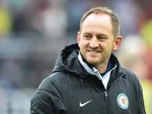 Torsten Lieberknecht ist der Trainer von Eintracht Braunschweig. Foto: Uwe Anspach