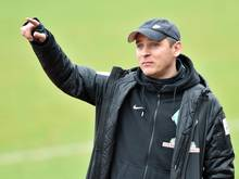 Werder-Trainer Viktor Skripnik verordnete seinen Spielern eine Doppelschicht