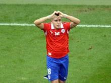 Nicolas Castillo spielte 2013 für Chile bei der u-20-WM. Foto: Georgi Licovski