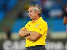 Der Vertrag mit Alain Giresse als Nationaltrainer Senegals wird nicht verlängert. Foto: Gavin Barker