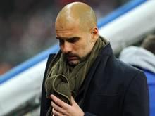 Bayern-Trainer Pep Guardiola würdigt Udo Lattek als überragenden Fußballlehrer und große Persönlichkeit