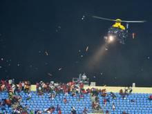 Im Halbfinale des Afrika Cups kam es zu Ausschreitungen