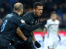Freddy Guarin erzielte die Führung für Inter.