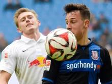 Die Leipziger verloren im eigenen Stadion gegen den FSV Frankfurt