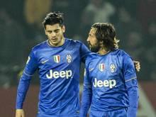 Juventus spielte nur 2:2 beim Tabellenvorletzten AC Cesena