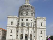 Die Kirche Igreja de Santa Engrácia in Lissabon dient als nationales Pantheon