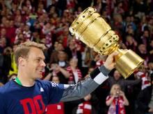 Torwart Manuel Neuer konnte den Sieg im Pokalfinale bereits zwei Mal mit dem FC Bayern feiern