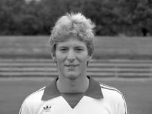 Karlheinz Förster aufgenommen beim offiziellen Fototermin des VfB Stuttgart für die Saison 1980/1981