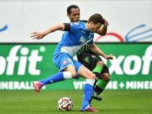 Hoffenheims David Abraham (v.) hat sich in der Partie gegen Gladbach verletzt