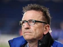 Für Bielefelds Trainer Norbert Meier ist das Spiel gegen Mönchengladbach eine Reise in die Vergangenheit