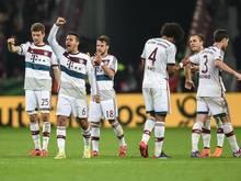 Als erstes Team steht der FC Bayern München zum sechsten Mal nacheinander im Halbfinale