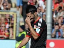 Leverkusens Emir Spahić war an einer handfesten Auseinandersetzung beteiligt