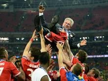 Jupp Heynckes war bei den Bayern erfolgreich, obwohl klar war, dass er am Saisonende aufhört