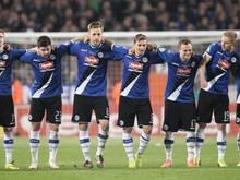 Arminia Bielefeld könnte als erst vierter Drittligist in das Endspiel des DFB-Pokals einziehen