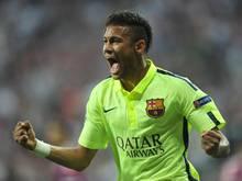 Neymar steht mit dem FC Barcelona im Finale der Champions League