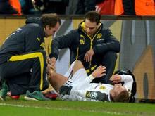 Marco Reus verletzte sich im DFB-Pokal-Spiel gegen Dresden am Oberschenkel