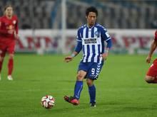 Karlsruhes Hiroki Yamada konnte wieder am Mannschaftstraining teilnehmen